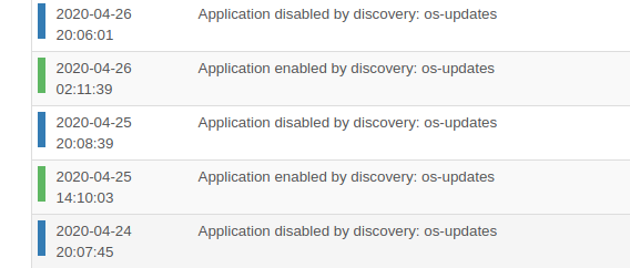 Flap_of_snmp_based_discovery