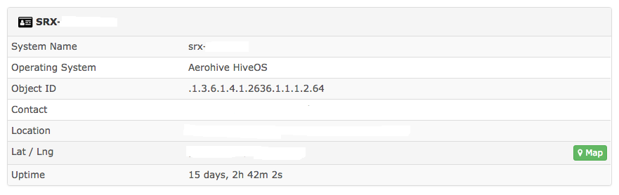 Device OS type mis-detected (AeroHive OS instead of JunOS) - Build