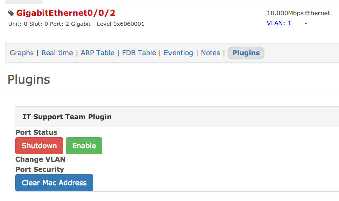 Extension of the Plugin Structure - Projects - LibreNMS