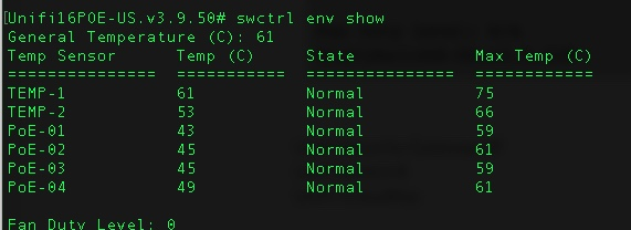 Ubuiquiti (ubnt) switches not showing temperatures - Help - LibreNMS