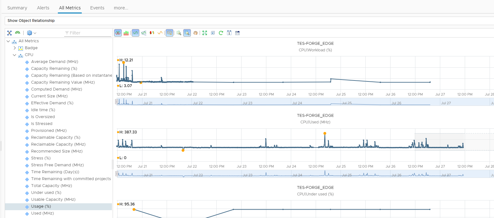 CPU INFORMATION NSX EDGE Firewall monitoring with LibreNMS