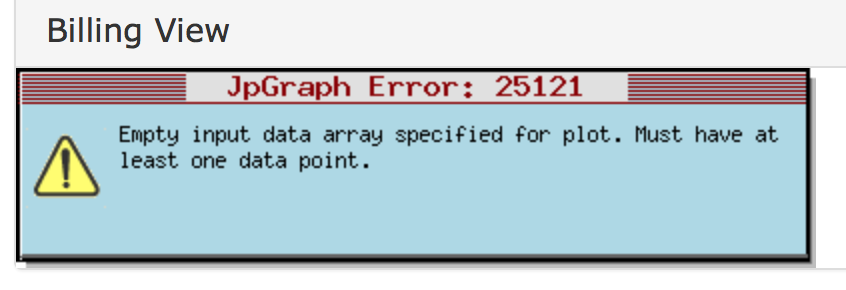 JpGraph error